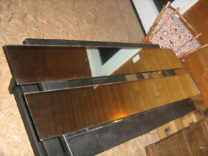 2 mirrors, 5 ft X 8 inches