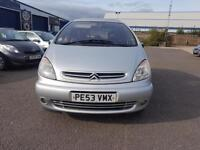 Citroen Xsara Picasso 2.0HDi 90hp 2003MY Exclusive LONG MOT