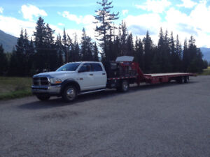 2011 dodge 4500 Laramie w/ 40ft tilt deck