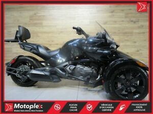 2018 Can-Am Spyder F3 87,48/Semaine