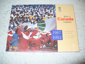 CANADA GAMES 1967 TO 1992 BOOK VALUE OFFERS
