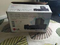 LG surround sound speakers no DVD player