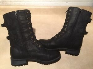 Women's Tall Black Boots Size 7 London Ontario image 2