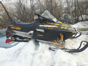 MZX 800 skidoo for sale