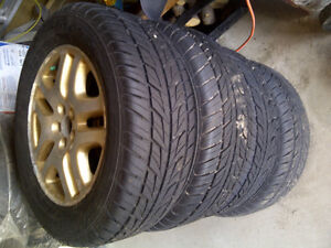 NEW Tires on 5 Bolt Rims Kingston Kingston Area image 3