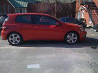 2010 Volkswagen GTI  Rouge tornade (3 portes)