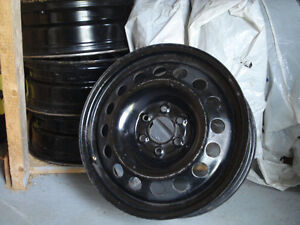 For Sale:  17  inch 6 Bolt Steel Rims