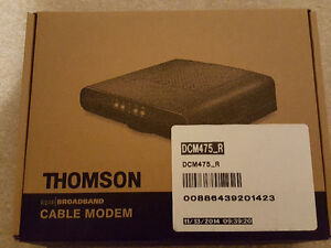 Thomson DCM475 DOCSIS 3.0 Cable Modem