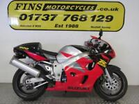 1997 Suzuki GSXR 600V, Red, Rides well, MOT, Warranty