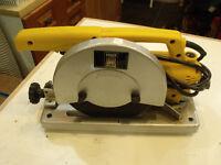 7 inch chop saw C/W blades