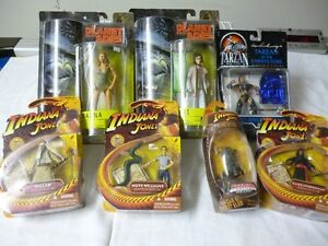 Planet of the Apes, Indiana Jones and Tarzan Action Figures