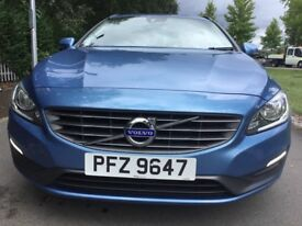 Volvo V60 2.0 D3 BUSINESS EDITION 136PS Good / Bad Credit Car Finance (blue) 2013