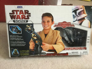 Star Wars Science earth Vader Robotic Arm