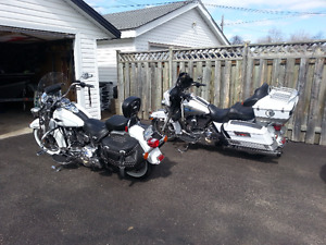 2013 HARLEY HERITAGE SOFTAIL AND 2009 HARLEY CLASSIC