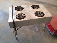4 Burner Camp Stove