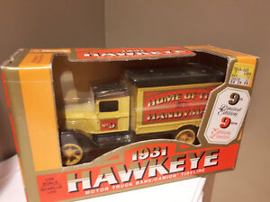 1931 Hawkeye Motor Truck Bank Home Hardware Limited Edition