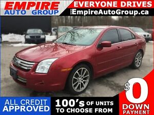 2008 FORD FUSION SEL * LEATHER * SUNROOF * POWER GROUP