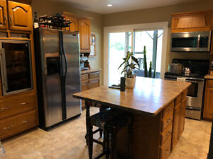 Solid Wood Kitchen Cabinetry