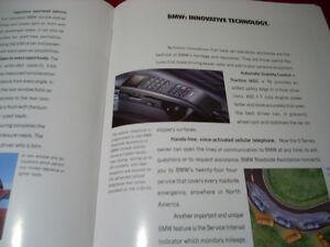 1993 BMW sales brochure Peterborough Peterborough Area image 8