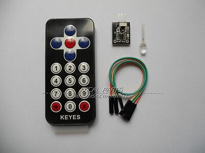 New Infrared IR Wireless Remote Control Module Kits for Arduino AVR PIC M104