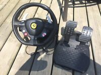 X Box 360 driving wheel