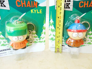 New Unopened South Park Solid Resin Keychains -Stan and Kyle Kitchener / Waterloo Kitchener Area image 3
