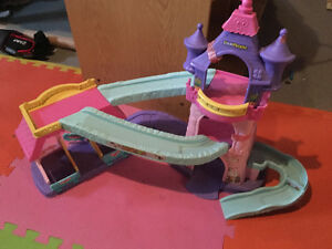 Princess tower with rocking horses