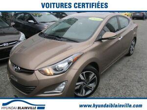 Hyundai Elantra Limited CUIR,CAMÉRA RECUL,TOIT OUVRANT,BLUETOOTH