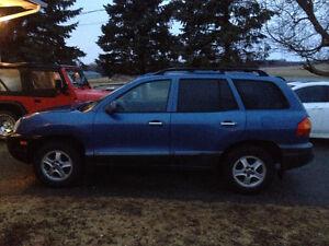 Santa Fe 2002 AWD V6