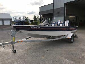 Bateau de pêche Princecraft Pro 167 2002