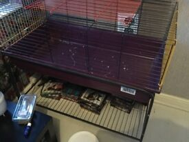 For cage sale with stand
