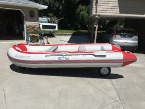 Zodiac inflatable type boat