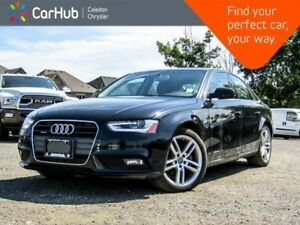 2014 Audi A4 Technik|Quattro|Navi|Sunroof|Backup Cam|Bluetooth|