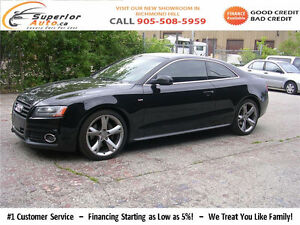 2009 Audi A5 3.2 quattro 6 speed-S-LINE PKG-LIKE NEW-CERTIFIED