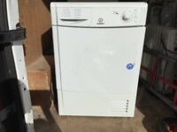 Hotpoint condenser tumble dryer in mint condition with a warranty