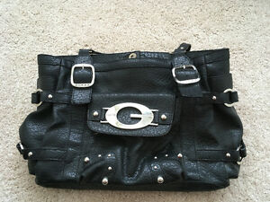 Guess Black Large Tote Purse