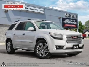2016 GMC Acadia One Owner, Navi, Roof, Denali, Accident Free