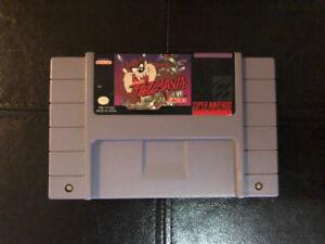 Taz-Mania Taz Manian Devil (SNES) Super Nintendo game