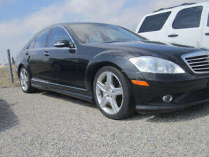 2008 Mercedes-Benz S-Class S450 AWD 4-MATIC Sedan