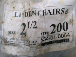 "2 1/2""Linden chairs for rebar"