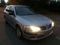Nissan Almera 1.8 automatic one year mot great condition in and out drives spot on