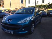 Peugeot 207 SW 1.6 HDi S 5dr (a/c)£2,595 one owner