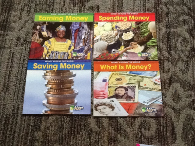 SCHOLASTIC MONEY AROUND THE WORLD BOOK SET