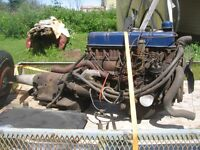 FORD MOTOR  6 CYL AND TRANS FOR SALE