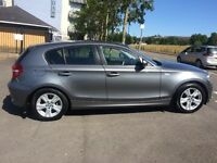 BMW Series 1, 5 door hatchback, Diesel, Automatic, 2010 with only 29,000 miles