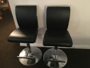 2 Dining Bar Chairs