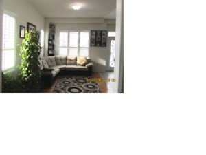 Beautiful 5 year old End Unit Town House for Rent- FEB 15 2018