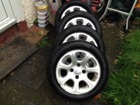 Citroen saxo vtr,Peugeot 106,206,306 wheels,£100 no offers