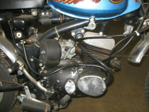 1973-75 AMF HD X-90 Mini Bikes &Restoration Project