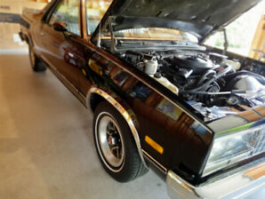 1984 El Camino For Sale - WELL maintained car with 26,189 miles